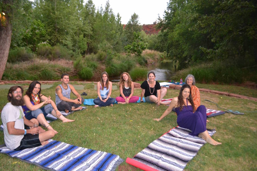 Reiki retreat circle