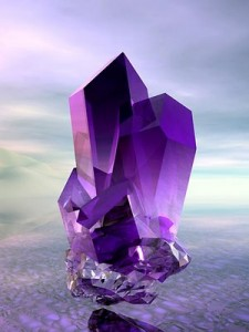 Amethyst Reiki crystal