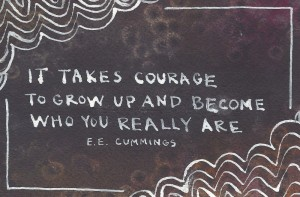 ee cummings on courage
