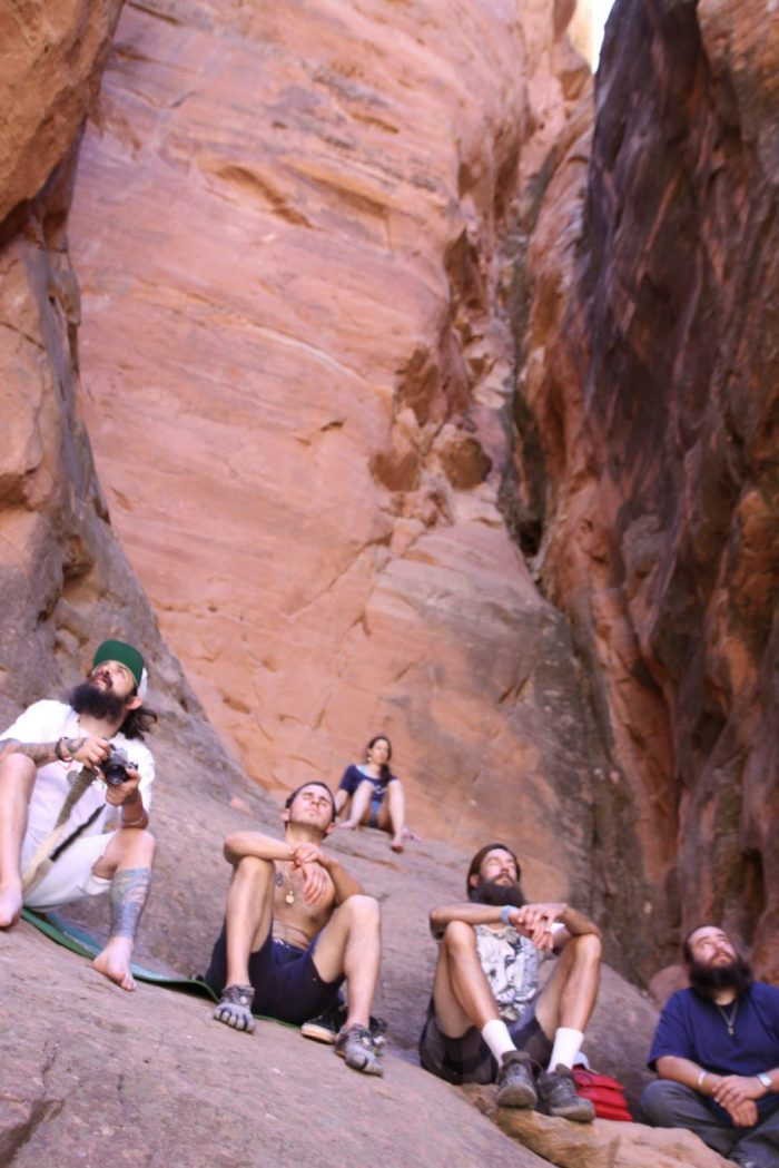 reiki retreat hike