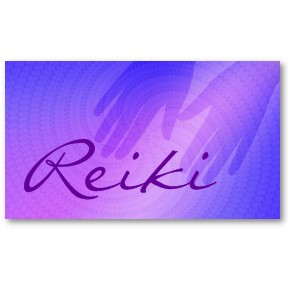 Reiki Master business cards